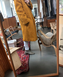 COAT 1825 :: gentlemen coat / yellow